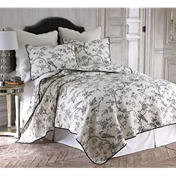 by bedding brighton quilt blue set toile williamsburg quilts