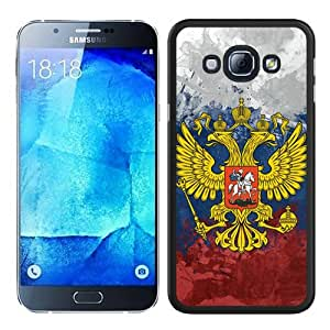Cheap Abstract Samsung Galaxy A8 Case,Vintage Russia Flag Black New Custom Design Samsung Galaxy A8 Cover Case