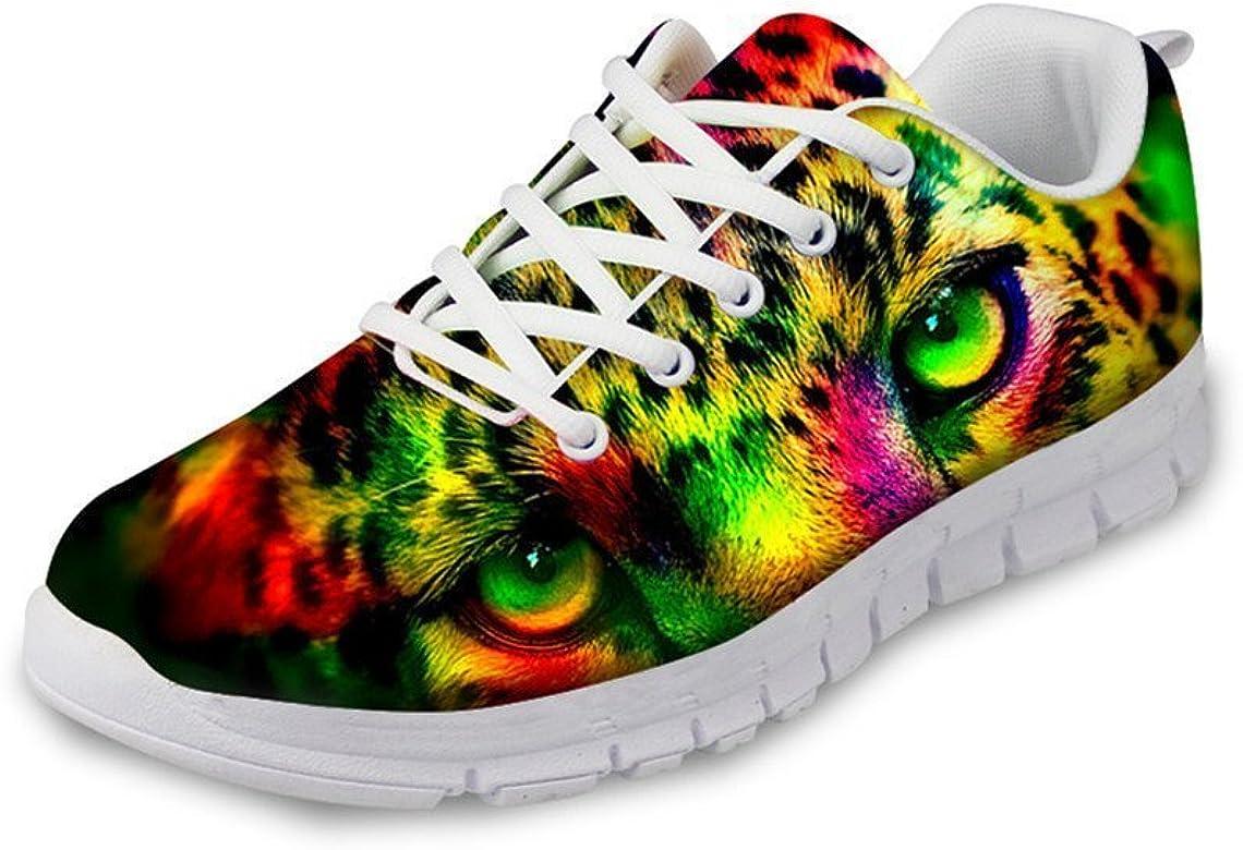 Zapatillas de Deporte para Correr, Ligeras, para Hombre, diseño geométrico, para el Gimnasio, con Cordones: Amazon.es: Zapatos y complementos