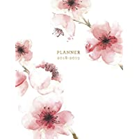 Planner 2018-2019: Floral 2018-2019 Planner | 18-Month Weekly View Planner | To-Do Lists + Motivational Quotes | Jul 18-Dec 19