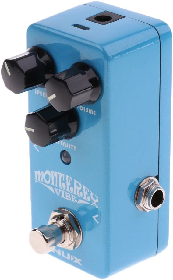 SDENSHI Mini NRV-2 Oceanic Efector De Guitarra De Aluminio Para Acompañamiento De Instrumentos