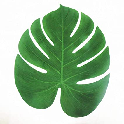 amazon com tinksky tropical palm leaves 13 inch simulation leaf for