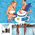 Pool Party Cooler,Floating Inflatable Cooler,Float Drink Holder,Wine Cooler Keep Your Drinks Cold On The Water & EBOOK AWESOME HOME DECOR IDEAS
