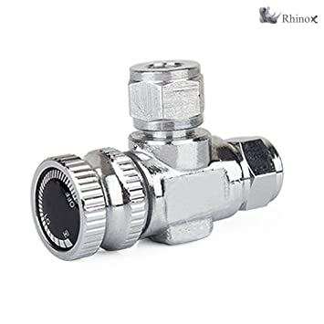 Rhinox Brass Check Valve for Aquariums - Sturdy, Reliable, Anti-Leak,  Anti-Backflow, Non-Return CO2 Air Valve That Ensures One Directional Water  Flow,