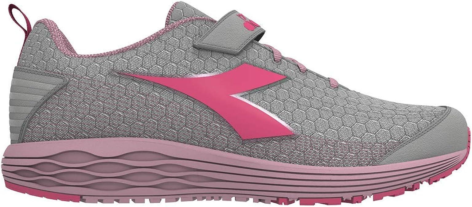 Diadora Flamingo 4 Win JR - Zapatillas de Running para niña: Amazon.es: Zapatos y complementos