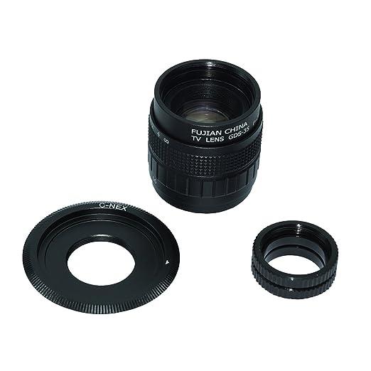 21 opinioni per Mondpalast ® CCTV cine lente Obiettivi 35mm F/1.7 + C-E monte Sony NEX