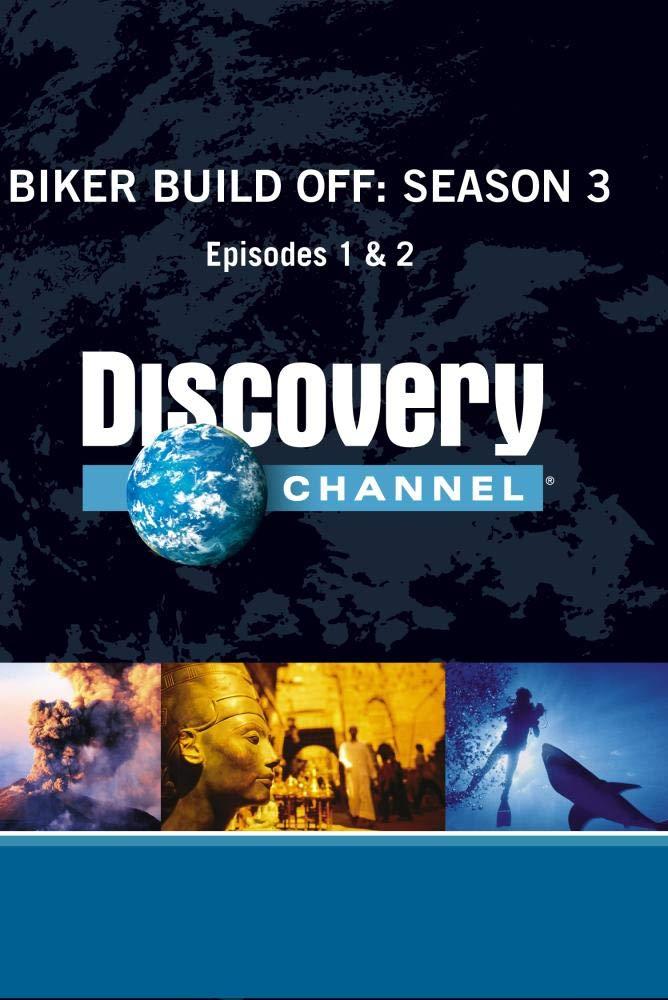 Biker Build Off Season 3 - Episodes 1 & 2 (Part of DVD set)