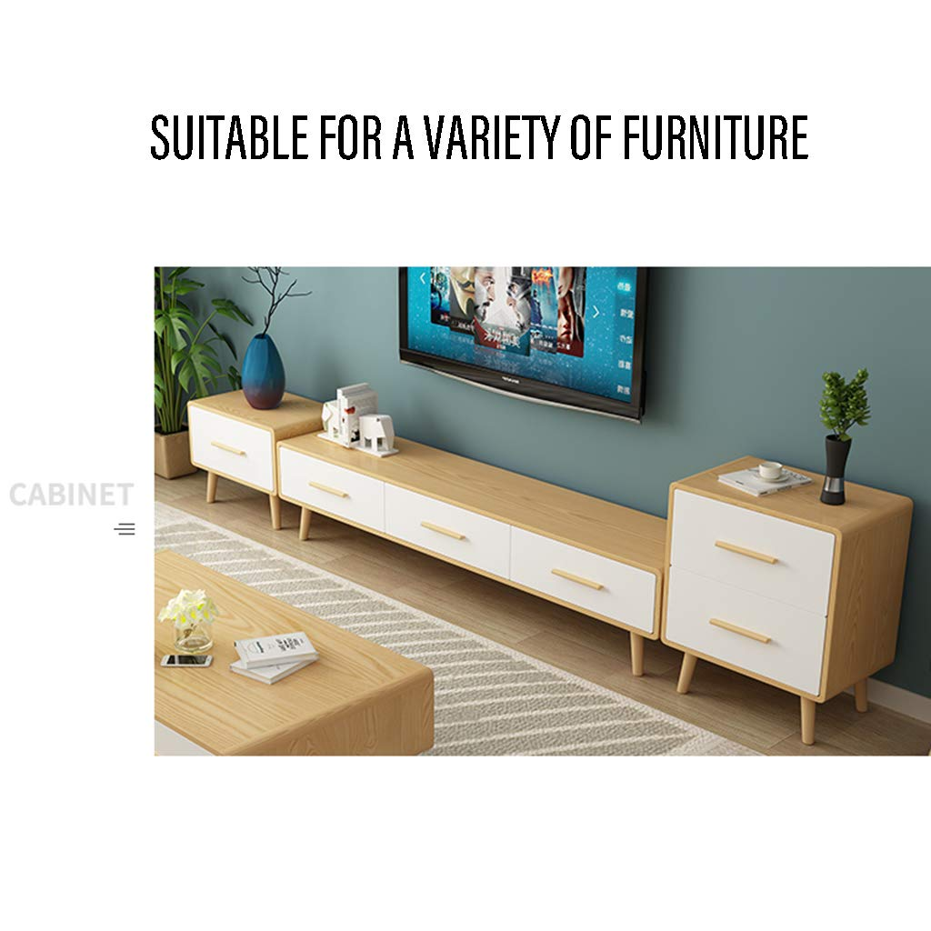 Amazon.com: Juego de 4 patas de madera maciza para sofá ...