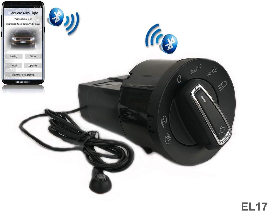 El17 Auto Lichtsensor Bluetooth App Lichtschalter Kfz Elektronik