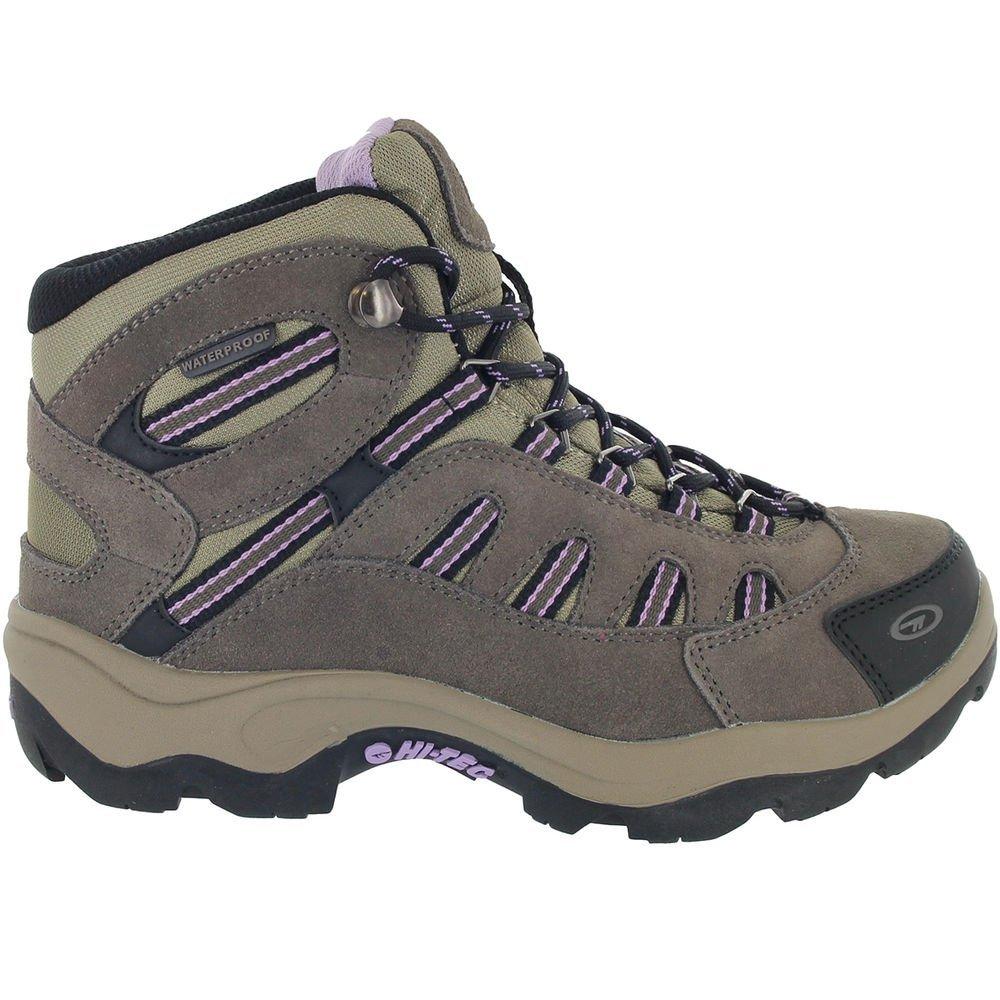 Hi-Tec Women Bandera Mid Waterproof Boots Dark Taupe/Viola Brown 7.5 by Hi-Tec (Image #2)