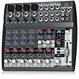 Behringer Xenyx 1202fx Premium 12-Input 2-Bus Mixer With Xenyx Mic Preamps, British Eqs And 24-Bit...