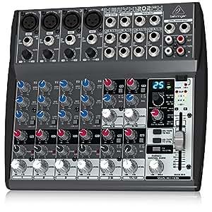 Behringer XENYX 1202FX - Tabla de mezclas (Importado de Alemania)