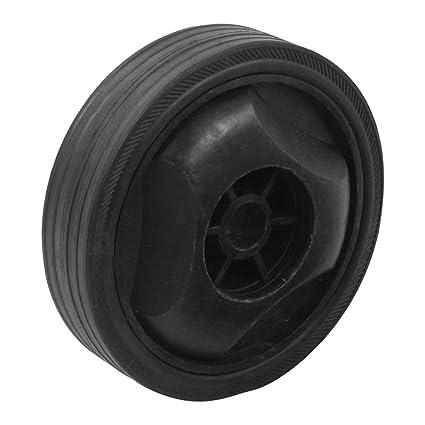 15 mm centro del agujero del 12 cm de diámetro exterior rueda de plástico para compresor
