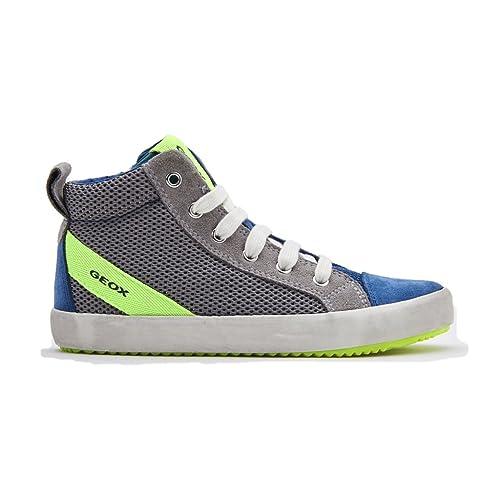 Geox J Perth B, Sneaker a Collo Alto Bambino