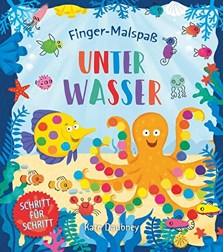 Finger Malspaß  Unter Wasser