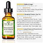 ToLB Hyaluronic Acid Serum for Skin - 100% Pure with Vitamin C + Natural Ingredients for Enhanced face Moisturization - Paraben Free, Vegan - Best Hyaluronic Acid for Facial Care 1 fl oz