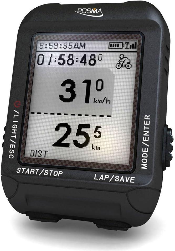POSMA D2 GPS Wireless Cycling Bike Computer Speedometer Odometer