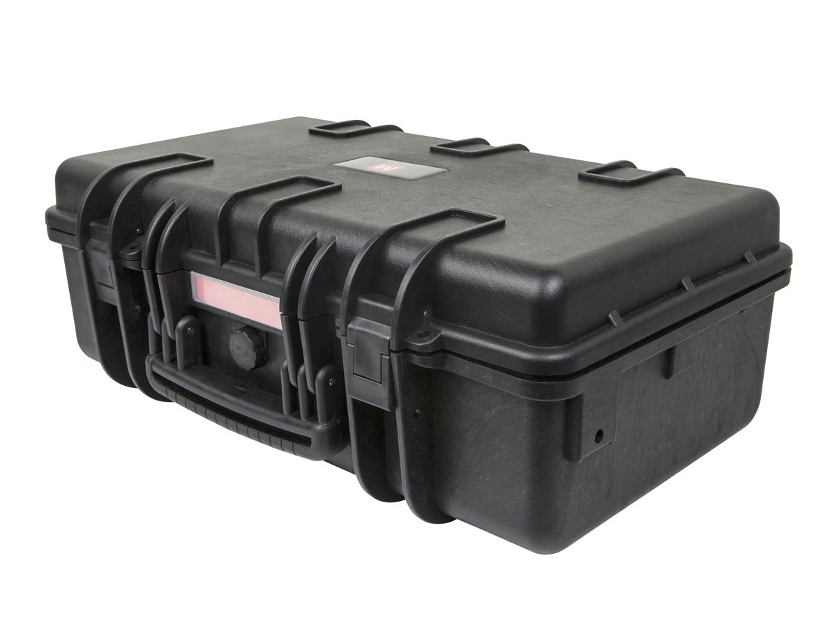 Monoprice Weatherproof/Shockproof Hard Case - Black IP67 Level dust and Water Protection up to 1 Meter Depth with Customizable Foam, 22'' x 14'' x 8''