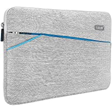 "Lacdo 13-13.3 Inch Waterproof Laptop Sleeve Case for Apple MacBook Pro 13.3-inch Retina / MacBook Air 13"" / iPad Pro / Surface Book / ASUS ZenBook / Dell HP Chromebook Notebook Bag Carrying Case, Gray"
