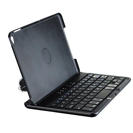 Mpow iPad Mini 4 Funda con Teclado Bluetooth, Rotación de 360 Grados y Soporte de