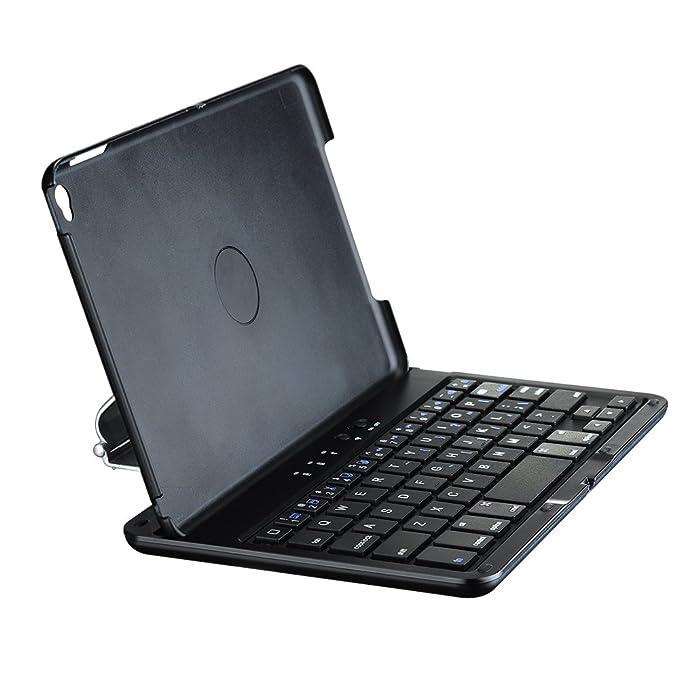 Mpow iPad Mini 4 Funda con Teclado Bluetooth, Rotación de 360 Grados y Soporte de Multi-Ángulo Auto Sueño/Despierta Smart Case Carcasa Protectora con ...