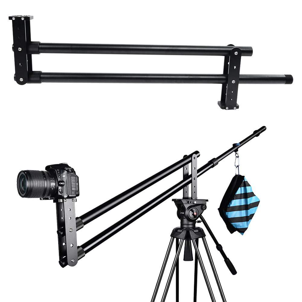 Serounder Mini Camera Camcorder Jib Crane,Portable Aluminium Alloy 5kg Load,360 °  Horizontal Rotation DV DSLR/SLR Video Digital Camera 2M Crane Arm for TV,Advertising,Film,Wedding by Serounder