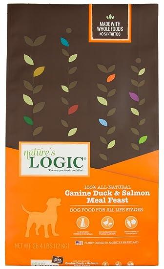 Amazon.com: Nature 's Logic Dry Pato & Salmón para ...