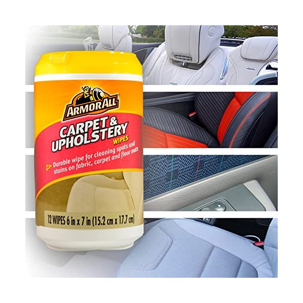 ArmorAll MINI Car Care Cleaning Wipes Kit And GOSO 4 Leaf Clover Car Air Freshener