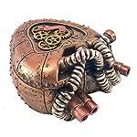 Bellaa 20980 Steampunk Heart Box Mechanical Industrial 4 inch 6