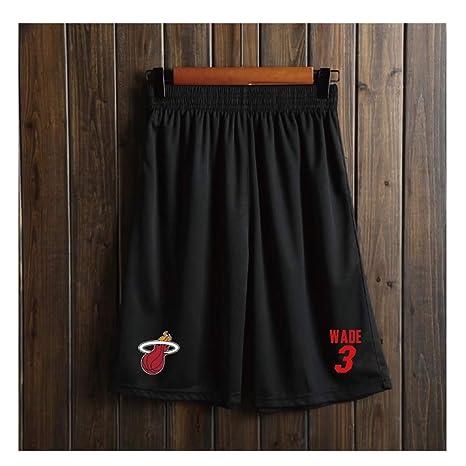 Pantalones Cortos de Baloncesto con Bolsillos para Hombre,Secado ...