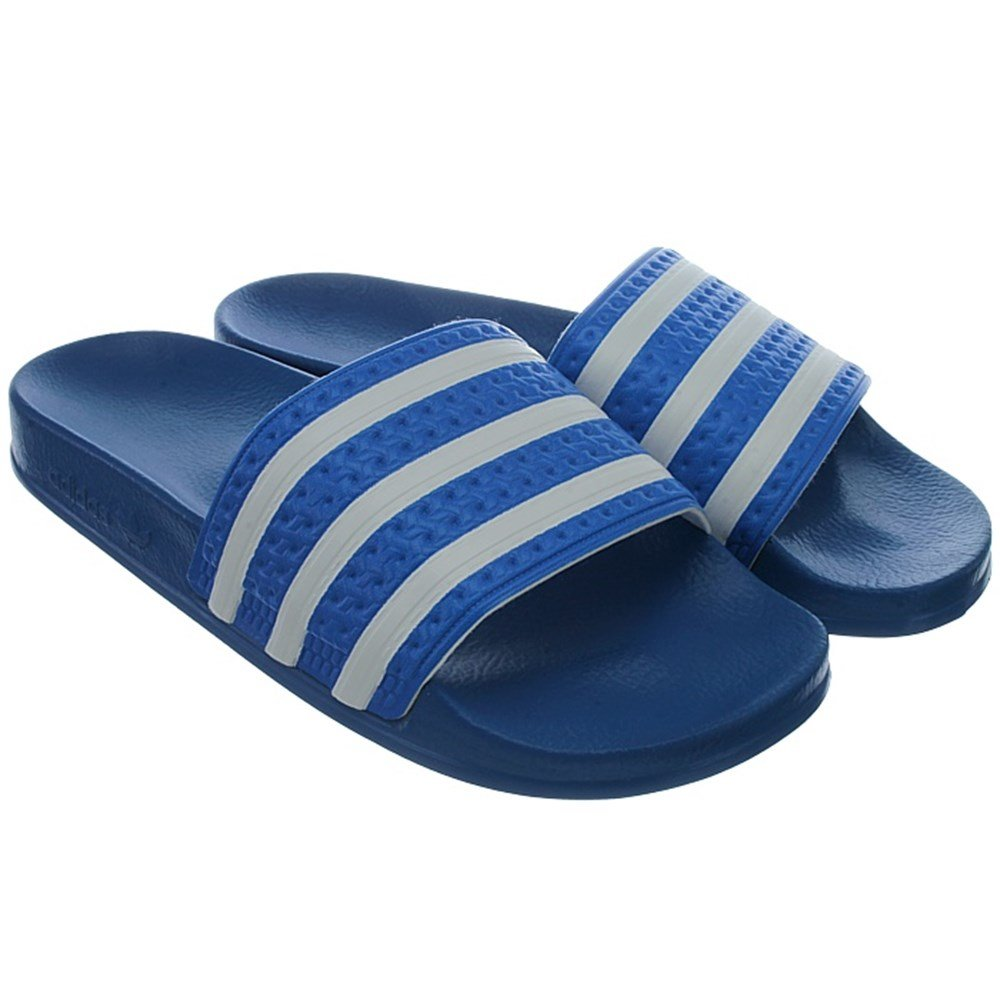 be7216890444 adidas Adilette K V24241 Boys Slides Pool Sandals Shower Sandals Blue 37   Amazon.co.uk  Shoes   Bags