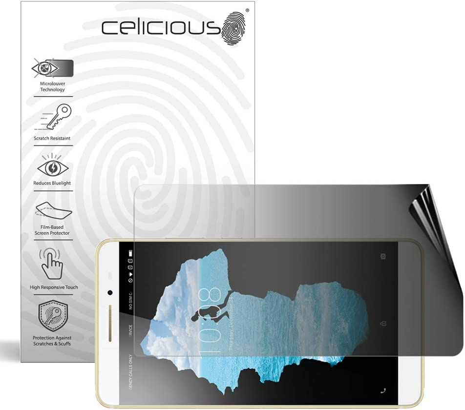Celicious Privacy 2-Way Landscape Anti-Spy Filter Screen Protector Film Compatible with Lenovo PHAB 2 Pro