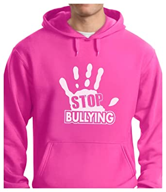 TeeStars - Stop Bullying - Pink Shirt Day Anti-Bullying Hoodie ...