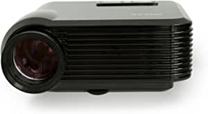 iDGLAX iDG-787 LCD LED Video Multi-Media Mini Portable Projector 1200 Lumens for Home Theater Movie Night Video Games HD Ready