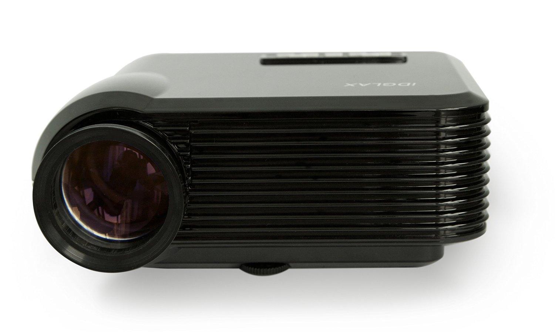 iDGLAX iDG-787 LCD LED Video Multi-media Mini Portable Projector 1200 Lumens for Home Theater Movie Night Video Games HD Ready by iDGLAX