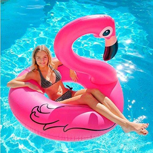 Jasonwell 174 Giant Inflatable Flamingo Pool Float Inflatable