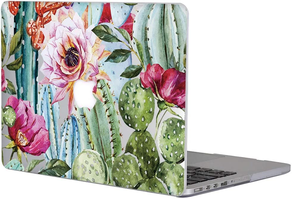 L2W MacBook Air 13 Inch Case Hard Plastic Printed Cover for Apple MacBook Air 13.3