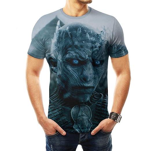 JUFENG Ropa De Juego De Tronos Camisetas 3D para Hombre Camisas De ...