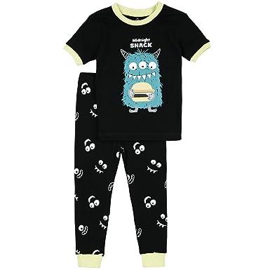 8ac7802e09bd Amazon.com  Petit Lem Little Boys  Monsters Pajama  Clothing