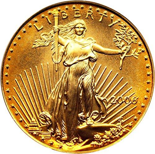 2006 W $25 American Eagles – Gold Gold Eagle Twenty Five Dollar MS69 PCGS
