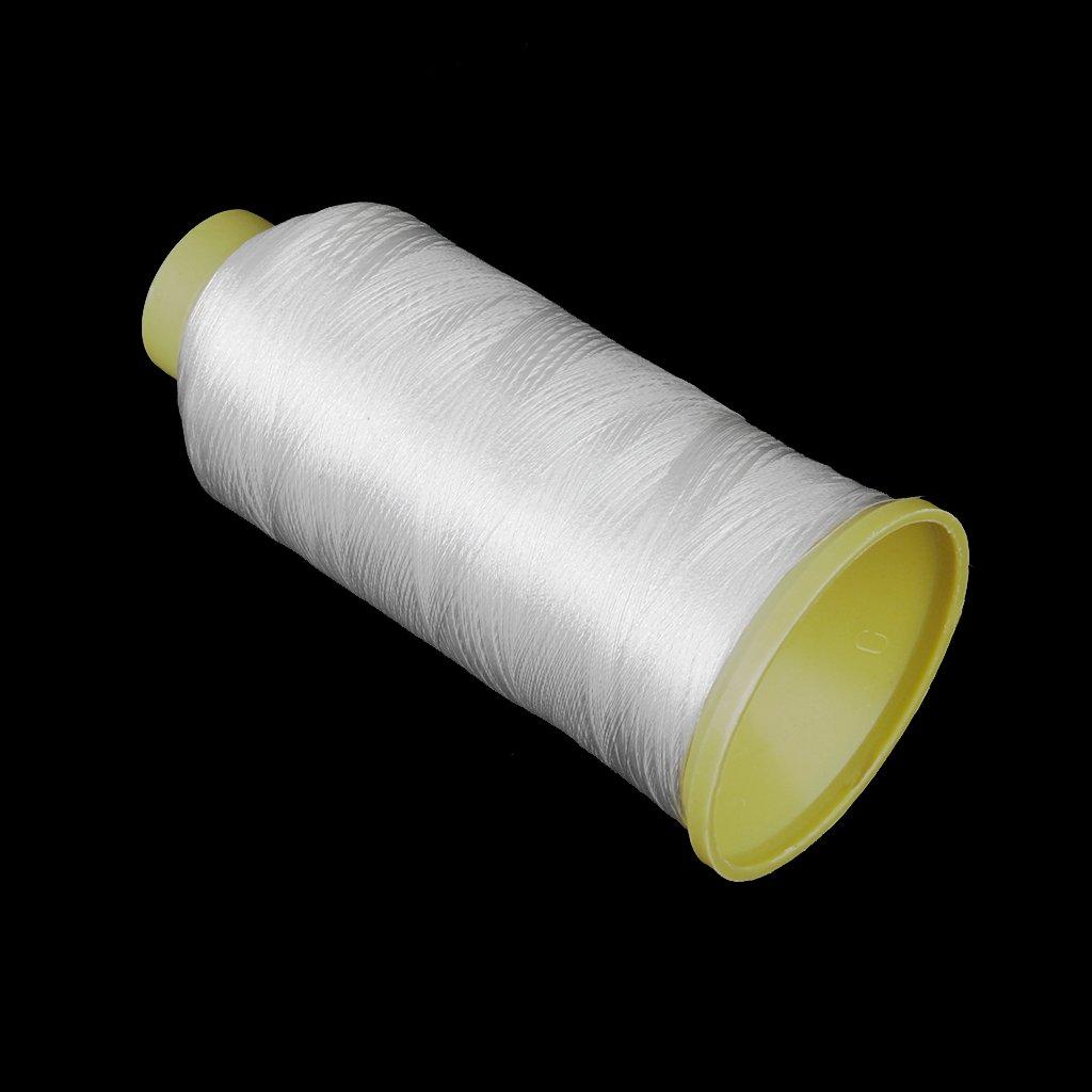2 de Color Blanco Un Rollo de Hilo de Coser para M/áquinas de Coser 108d