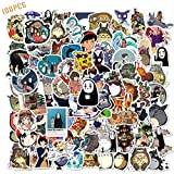 100PCS Studio Ghibli Stickers Hayao Miyazaki Anime