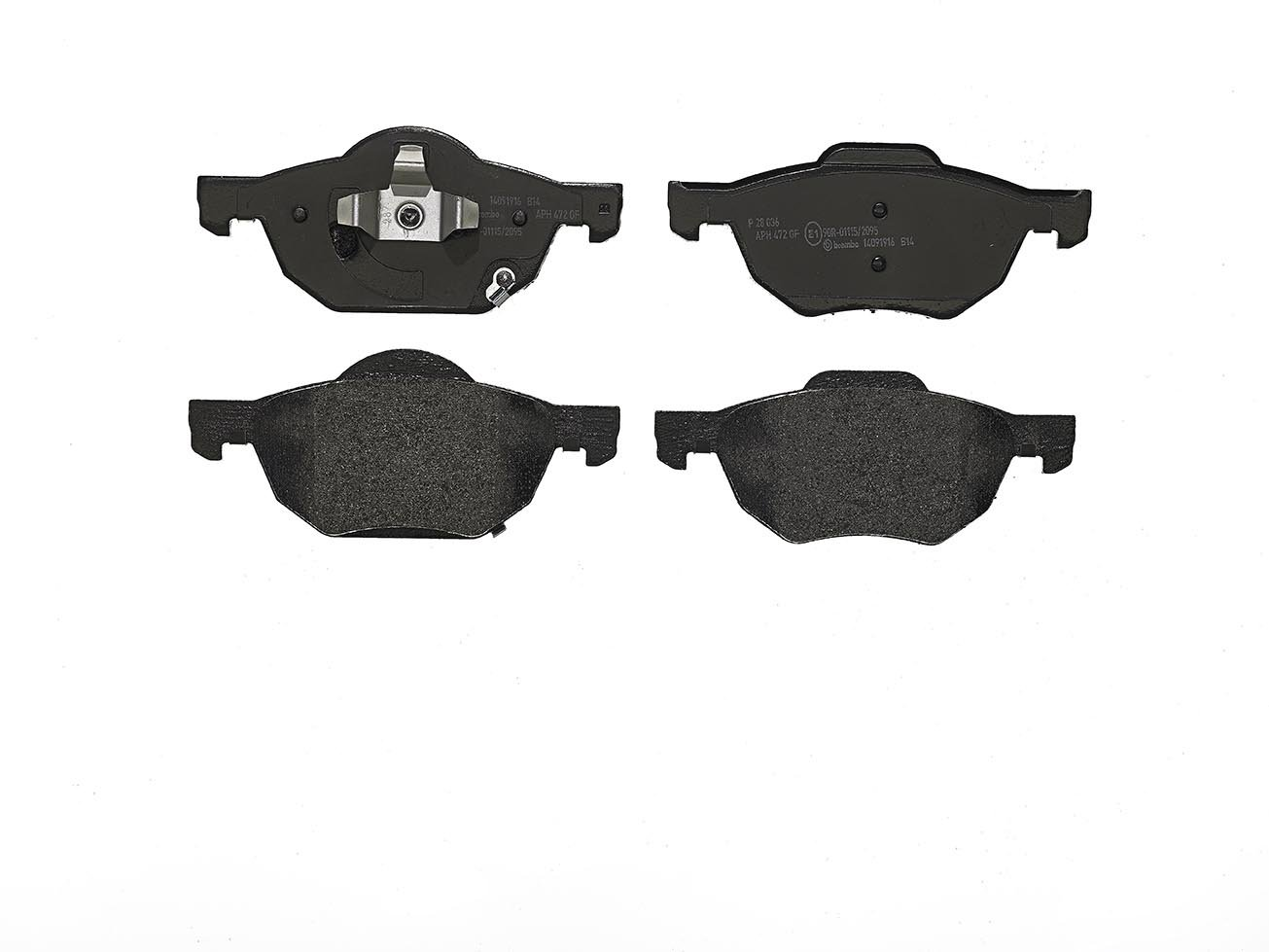 Brembo P28036 Front Disc Brake Pad Set of 4