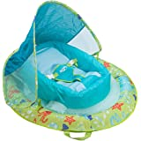 SwimWays 11554 Infant Spring Float Inflatable Swimming Pool Float with Canopy
