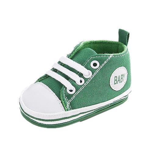 Zapatos para bebé Auxma Zapatos de Lona del bebé La Suela Suave de Antislip Calza la Zapatilla de Deporte para 3-6 6-12 12-18 Mes: Amazon.es: Zapatos y ...