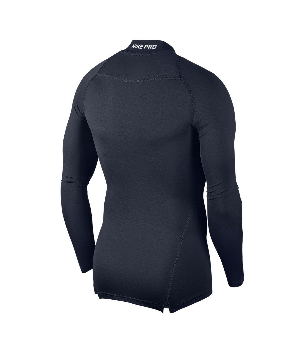 037605c9a343 Nike Men s Cool Compression Mock Long Sleeve Shirt  Amazon.co.uk  Sports    Outdoors
