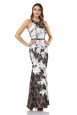 ed6b72a5c65 JS Collections Soutache Embroidered Lace Gown