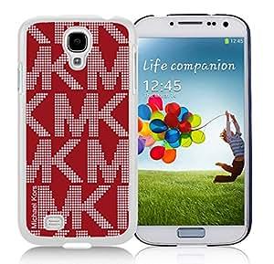 Customized Michael Kors Samsung Galaxy S4 I9500 White Phone Case S1-006