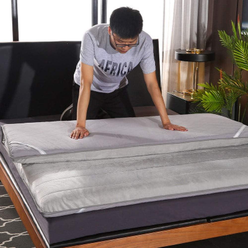 Lku 2020 colchón de látex Tradicional japonés colchón Plegable Cama Espuma de respiración, Espesor 6 cm