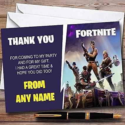 Tarjetas de agradecimiento personalizadas para fiesta de ...